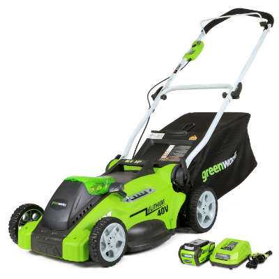 Greenworks 20-inch Cordless Push Lawn Mower