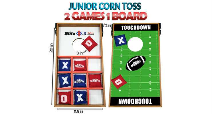 Best Cornhole Board for Kids - Junior Bean Bag Toss