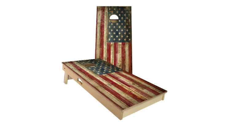 ACA Official Cornhole Board and Bag Set - USA Flag