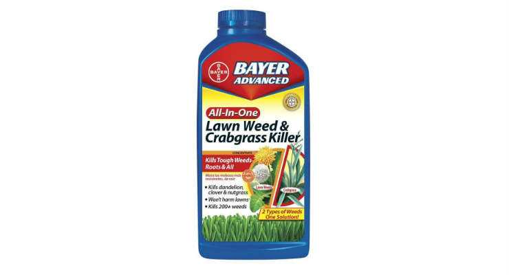 Bayer Advanced 704140 All-in-One Lawn Weed