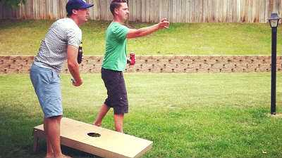 Cornhole Boards for Kids and Adults