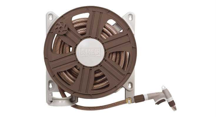 NeverLeak Side Mount Hose Reel