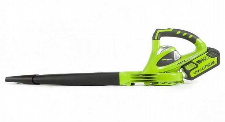 GreenWorks 24252 G-Max 40V Leaf Blower Review – October, 2018