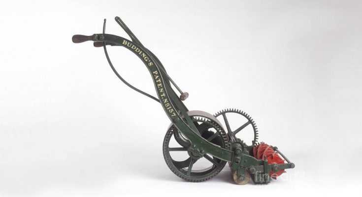 Reel Mowers - The First Lawn Mower