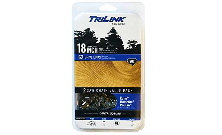 Trilink S62 Saw Chain Twin Pack