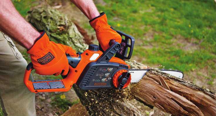 Black and Decker LCS1240 Cordless Chainsaw Detailed Review - Gardenlife Pro