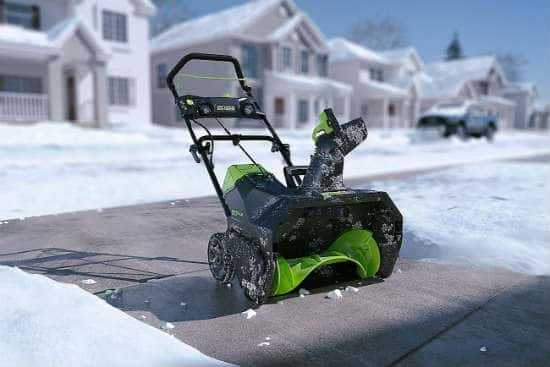 Reasons for Snow Blower? Cordless Electric Snow Throwers
