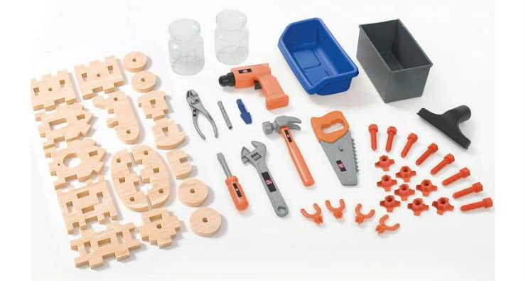 Step2 Deluxe Workshop Playset Parts