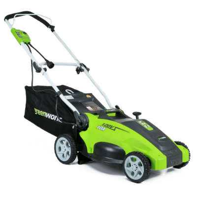 Greenworks Corded Electric lawn mower 25142