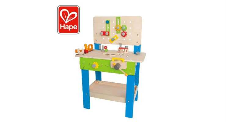 Hape Master Workbench for Toddlers