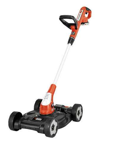 BLACK+DECKER Cordless String Trimmer and Mower MTC220