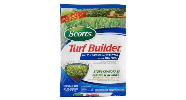 Scotts Turf Builder Crabgrass Preventer and Lawn Fertilizer