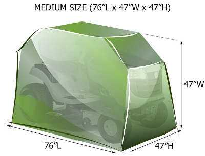 Lawn Mower Cover Size Guide