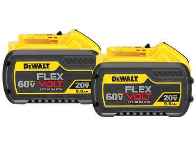 DEWALT FlexVolt 60V Battery System