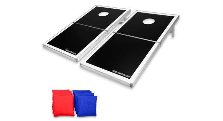 GoSports PRO Regulation Size Cornhole Board Set