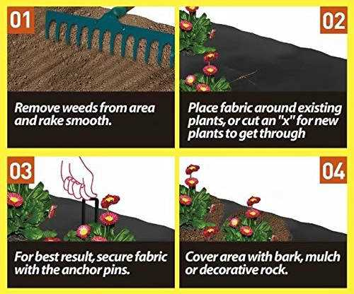Agfabric Weed Barrier Installation